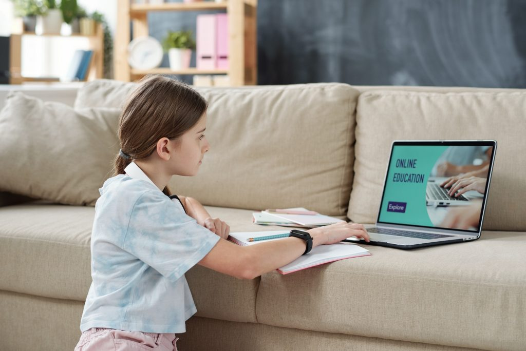 Online education for teenager